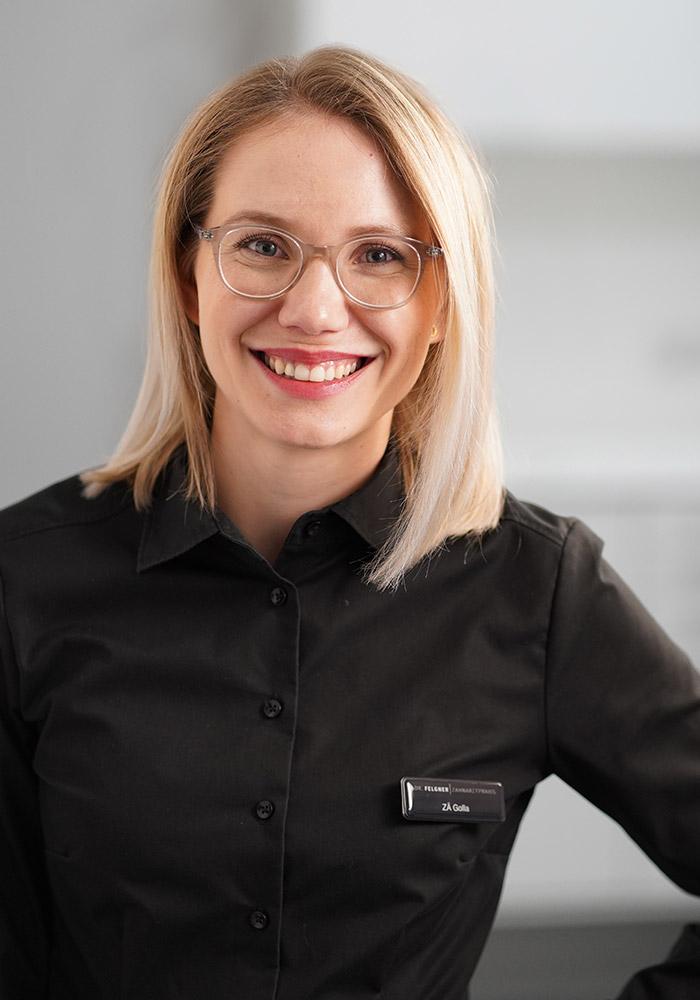 Tatjana Felgner, Zahnärztin in der Praxis für Zahnerhaltung Leipzig